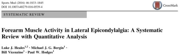Artículo Epicondilalgia