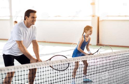 Codo tenista niño