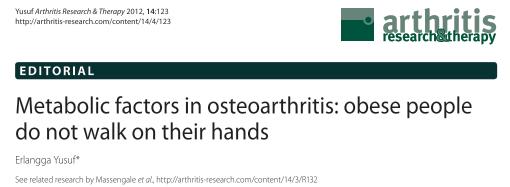 Thumb Arthritis Causes